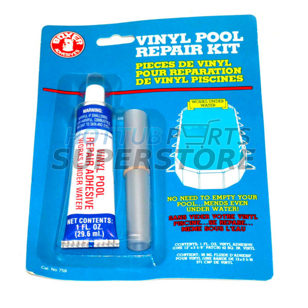 Pool Liner Vinyl Repair Kit Spa Amp Hot Tub Vinyl Repair